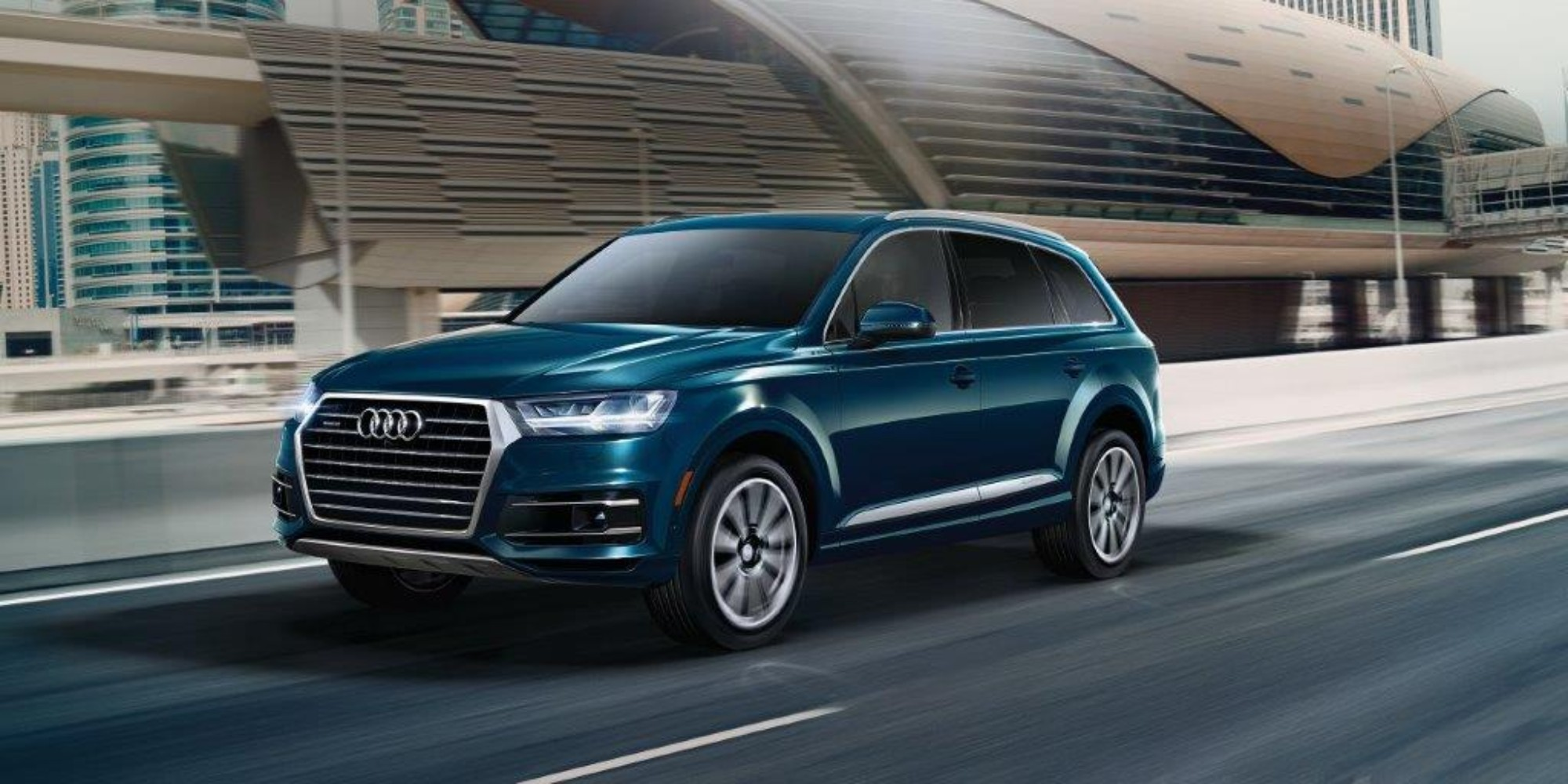 Best 3 Row Luxury Suv >> 2019 Audi Q7 Named 2019 Best Luxury 3 Row Suv For Families By U S