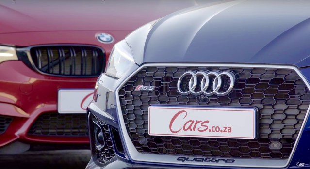 Drag Race: Audi RS 5 vs BMW M4 Competition Pack