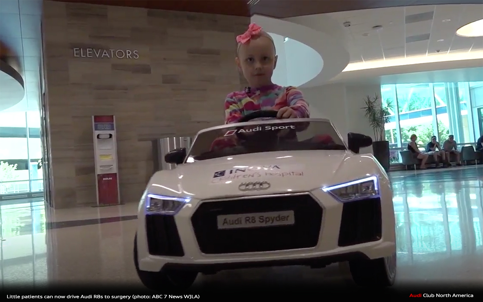 Feel Good Story of the Day: Little Patients Can Now Drive Audi R8s To Surgery