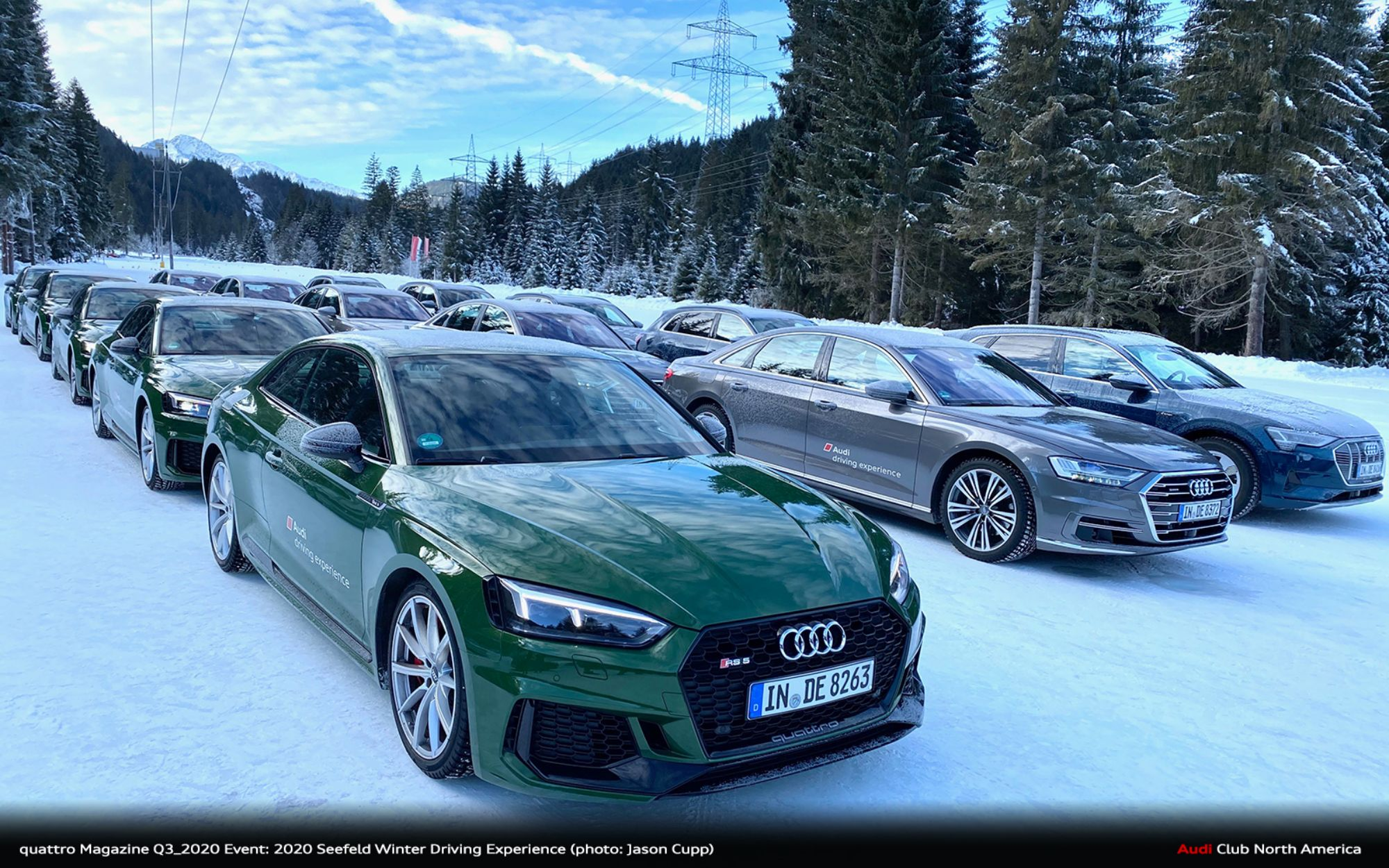 quattro Magazine Q2_2020 Event Report: 2020 Seefeld Winter Driving Experience