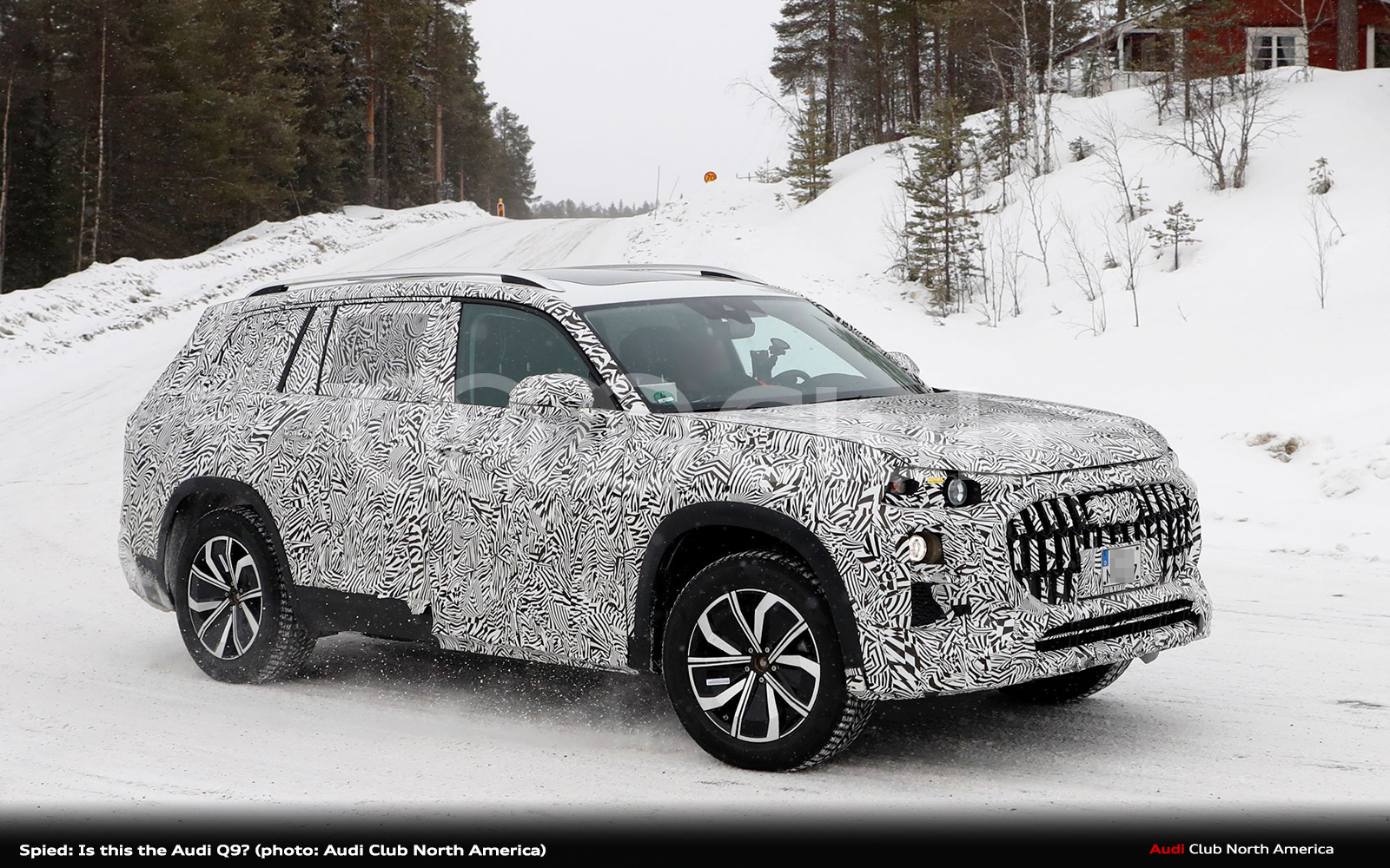 Spied: Is this the Audi Q9?