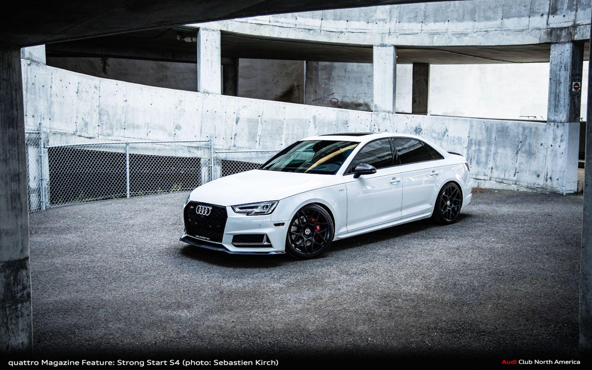 quattro Magazine Feature Car: Sebastien Kirch's Strong Start S4