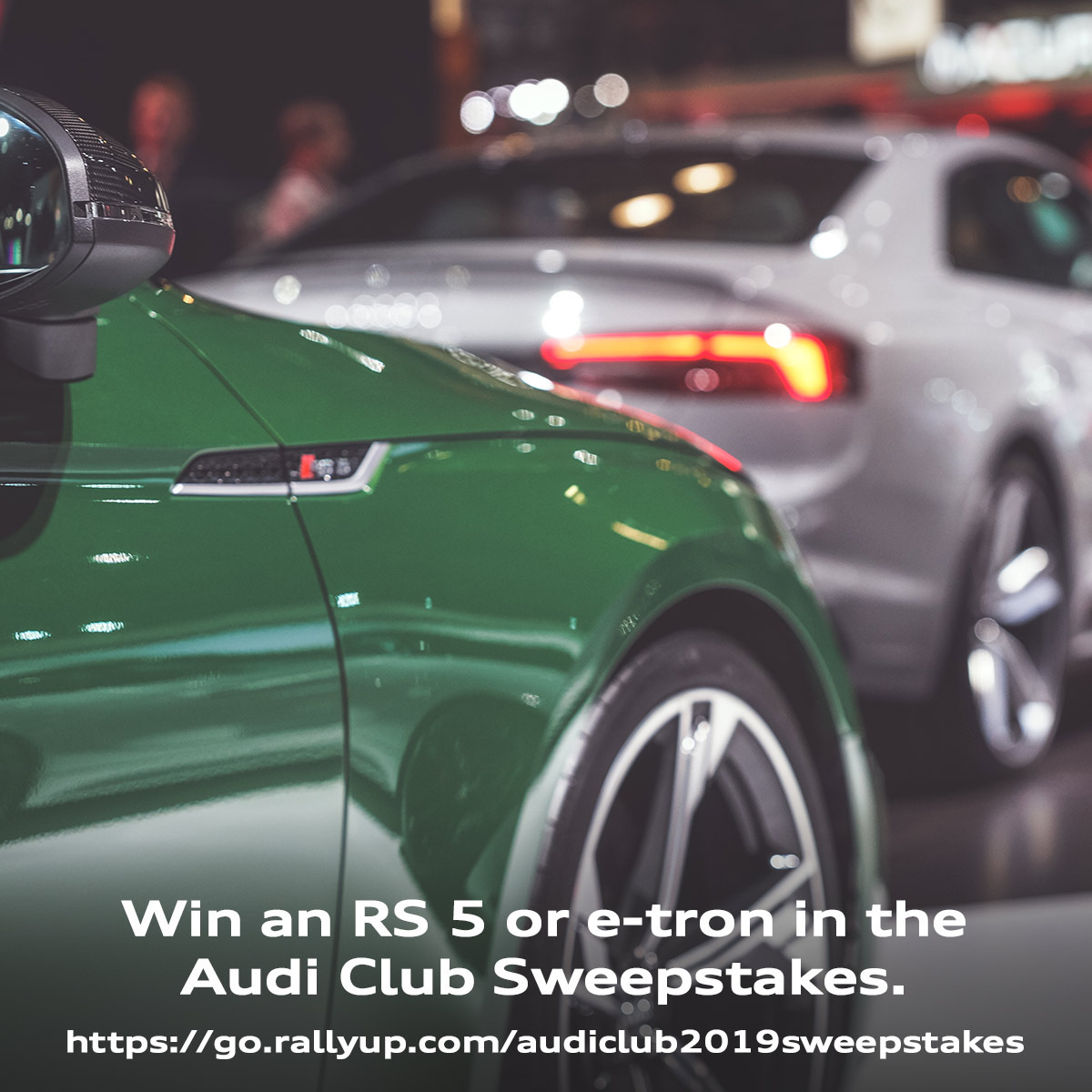 Audi Club Sweepstakes Is About to Cross the Finish Line...