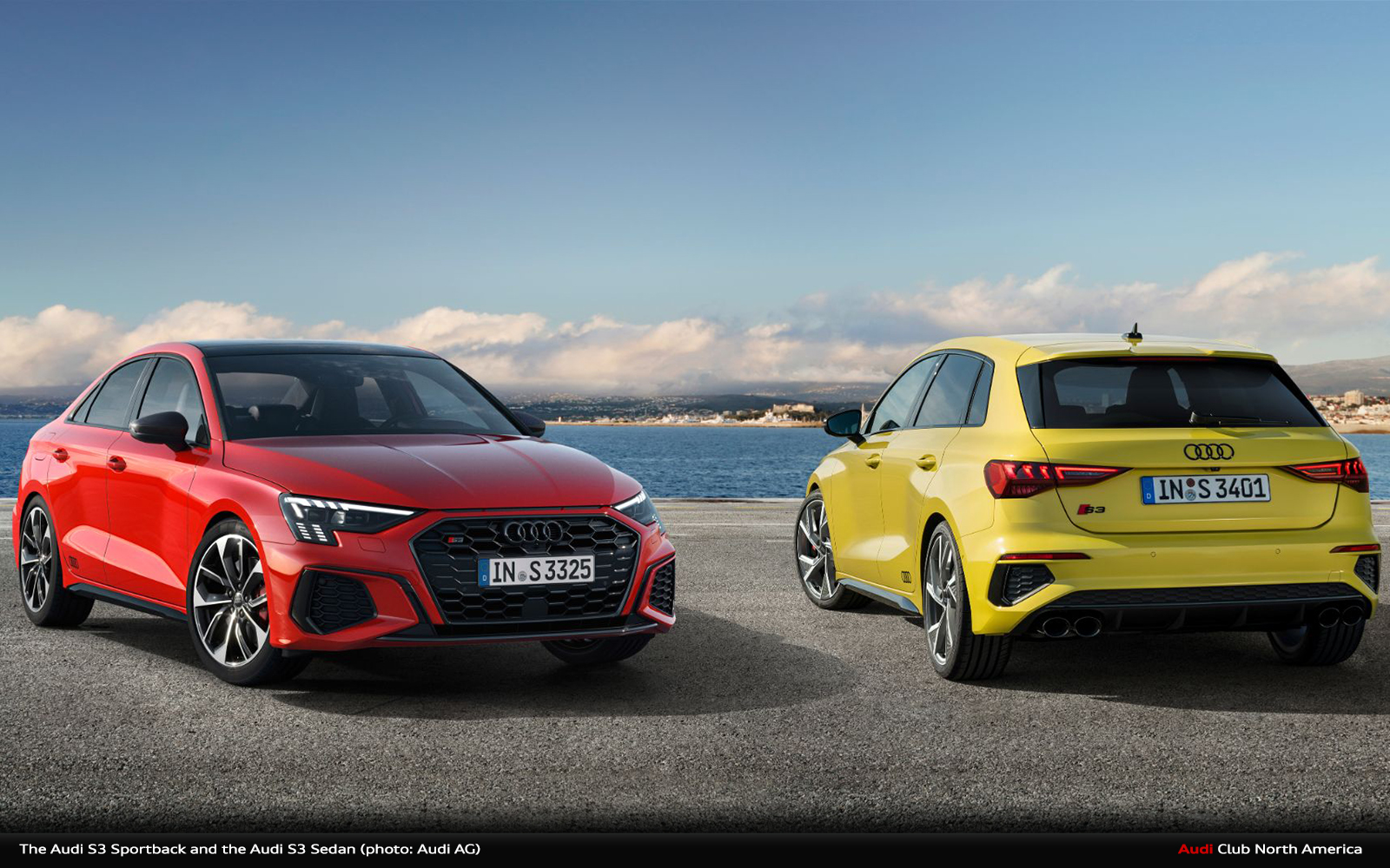More Dynamic, More Power, More Driving Pleasure: The Audi S3 Sportback and the Audi S3 Sedan