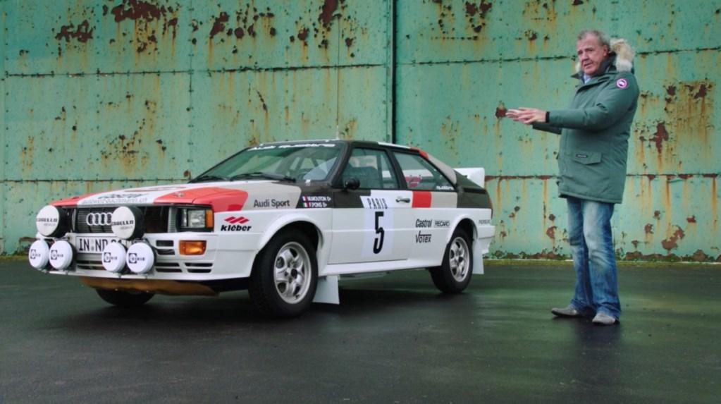 The Grand Tour: Jezza's Favorite Motorsports Battle- Audi vs. Lancia