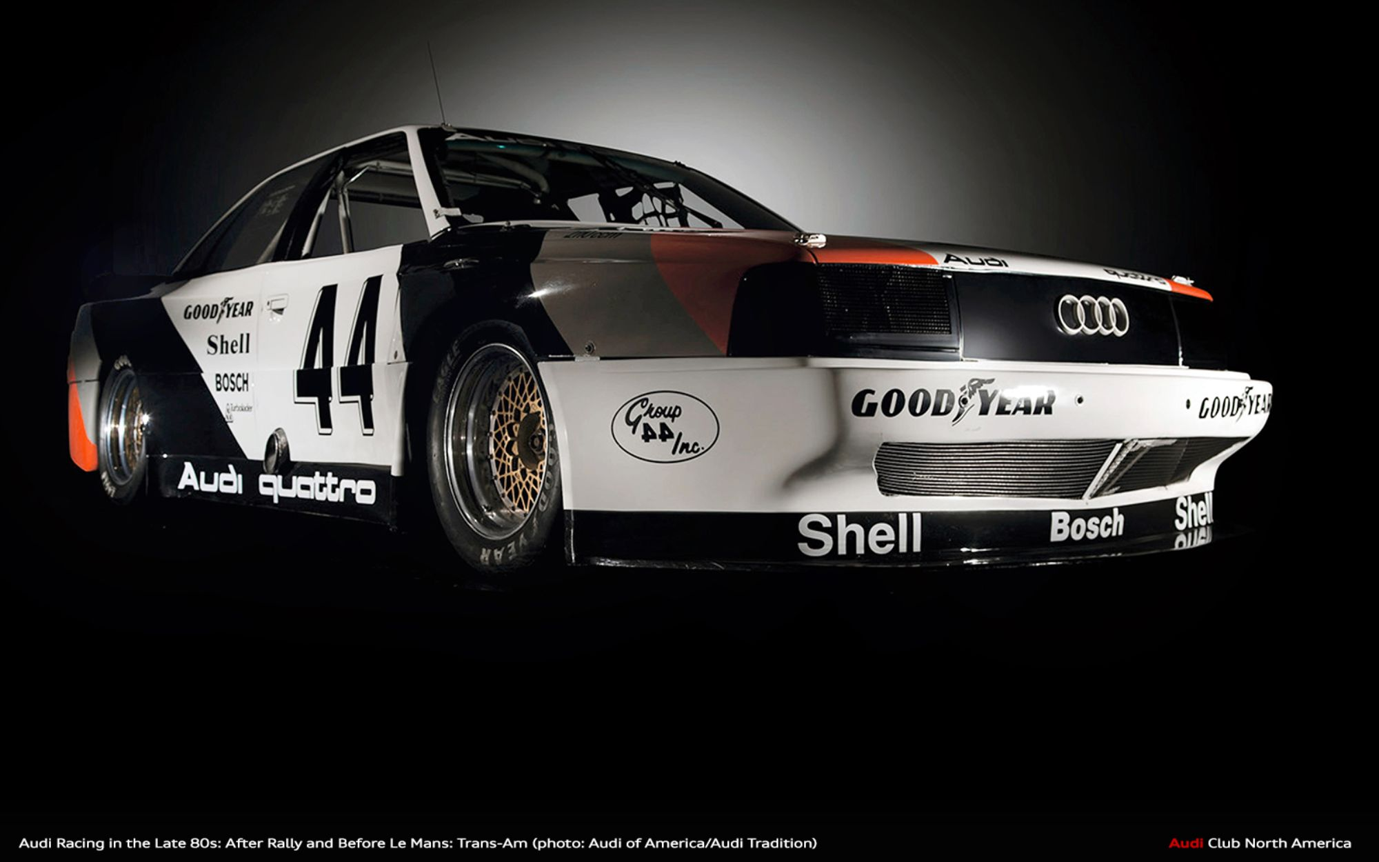 Audi Racing in the Late 80s: After Rally and Before Le Mans