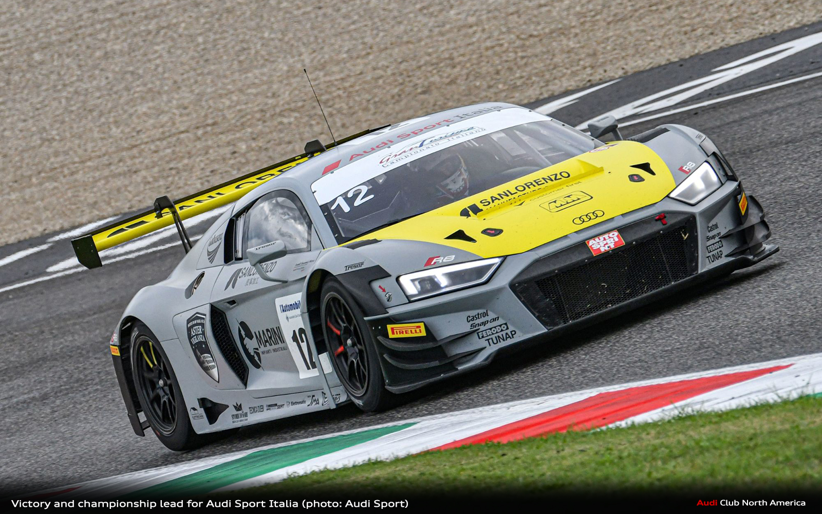 Victory and Championship Lead for Audi Sport Italia