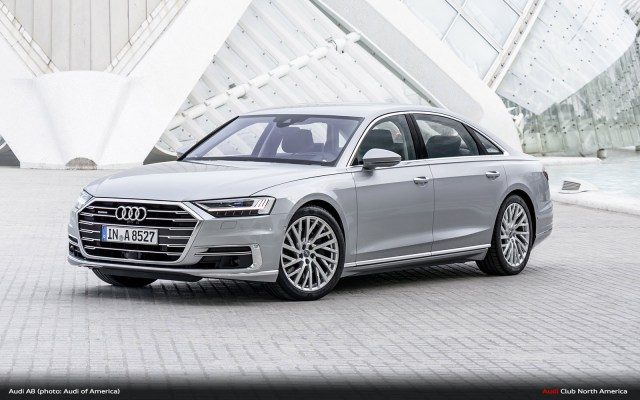 New Audi A8 Bound for L.A. Auto Show