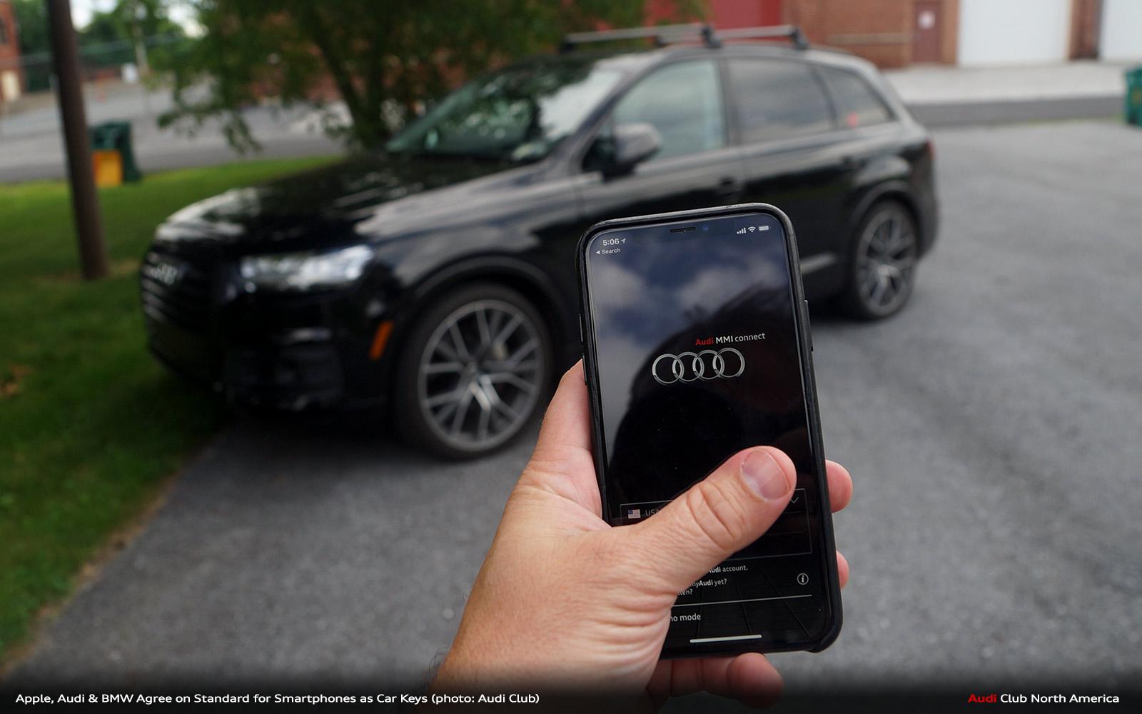 Audi, Apple, Samsung & More Agree to Standard for Smartphones as Keys