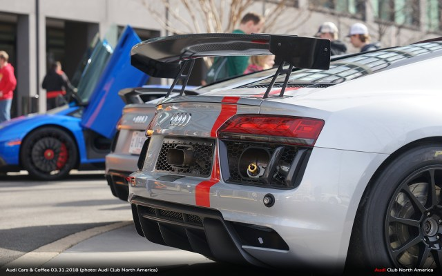 Audi Cars & Coffee – March 2018: Event Report