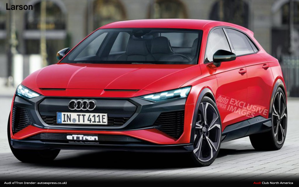 Auto Express: Audi TT Set To Morph Into All-Electric Crossover