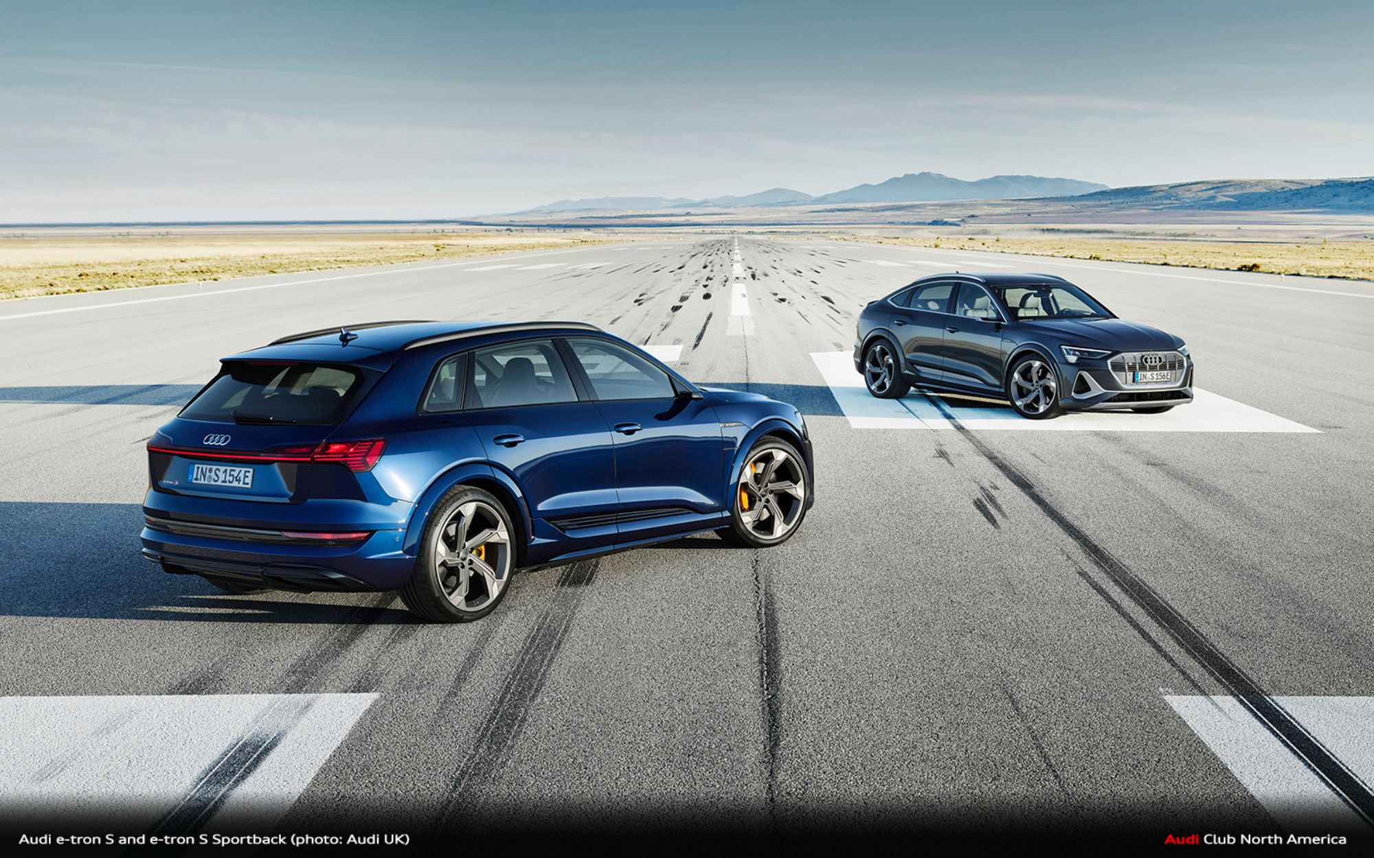 First Look: Audi e-tron S and e-tron S Sportback