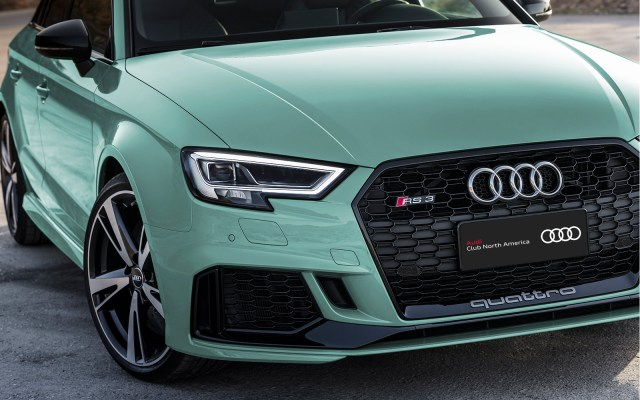 Audi exclusive RS 3 Raffle Winner Chosen