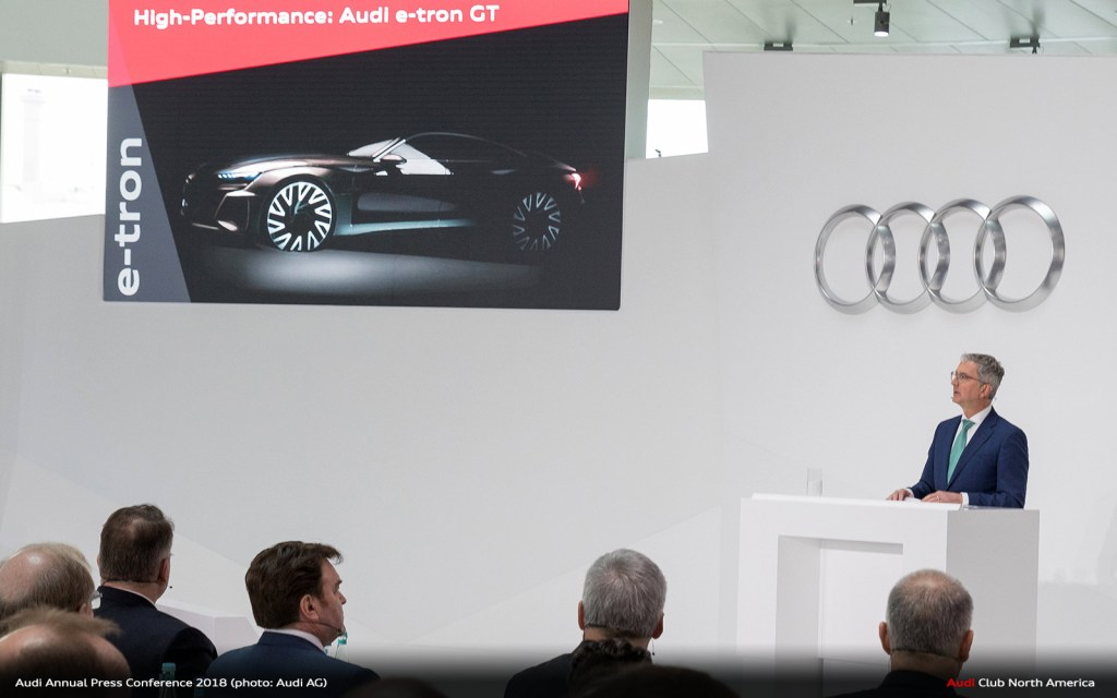 The Audi Annual Press Conference 2018 Speeches