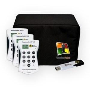100 RF Voting Keypad Kit, 50 RF Voting Keypad Kit, 30 RF Voting Keypad Kit