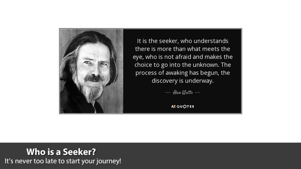 Who is a Seeker