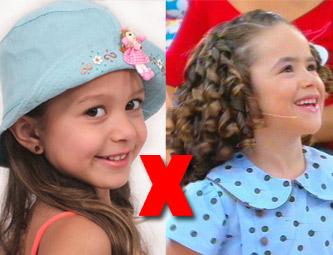 Concorrente: Maisa divide a atenção de Silvio Santos com outra menina, no SBT