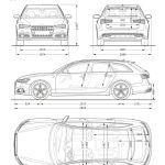 Abmessungen Audi A6 Avant 2017 Audi A6 Avant Review