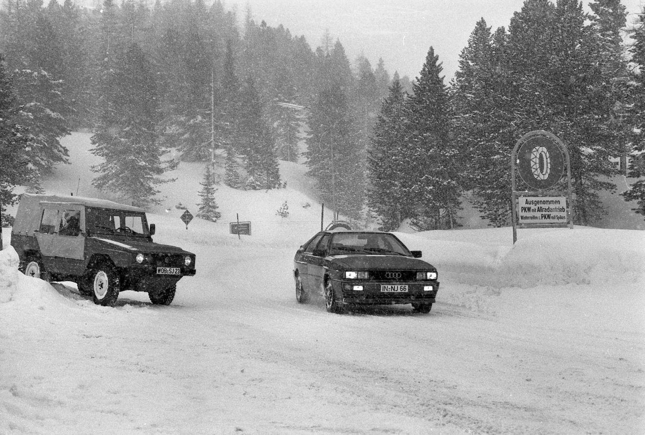 VW Iltis and Audi quattro