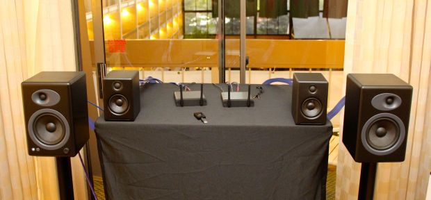 AudioEngine 2 and 5+ at RMAF