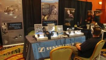 Sennheiser Amp and headphones at Rocky Mountain AudioFest 2012