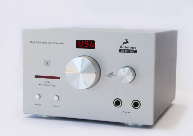 Antelope Audio Zodiac Silver DAC and headphone amplifer