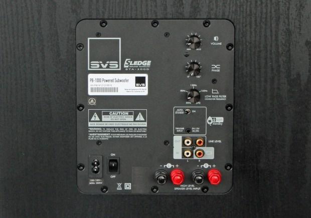 SVS PB1000 Back