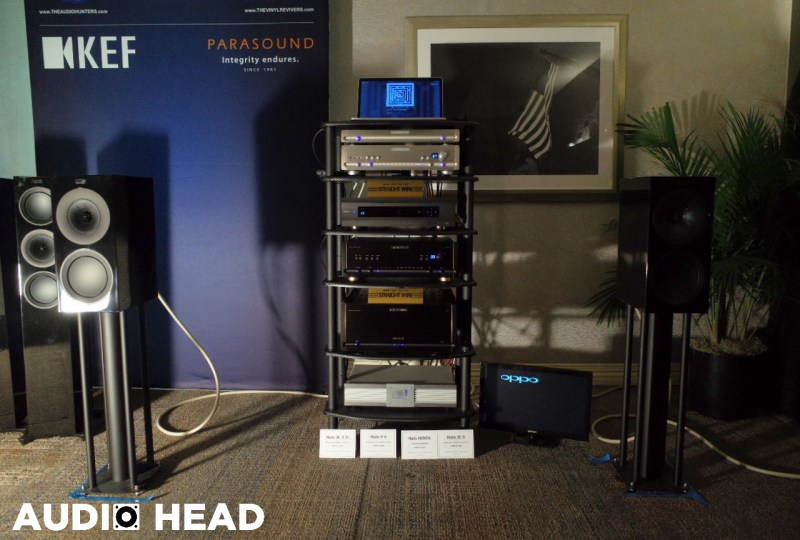 KEF, Parasound, Straight Wire, The Vinyl Revivers, The Audio