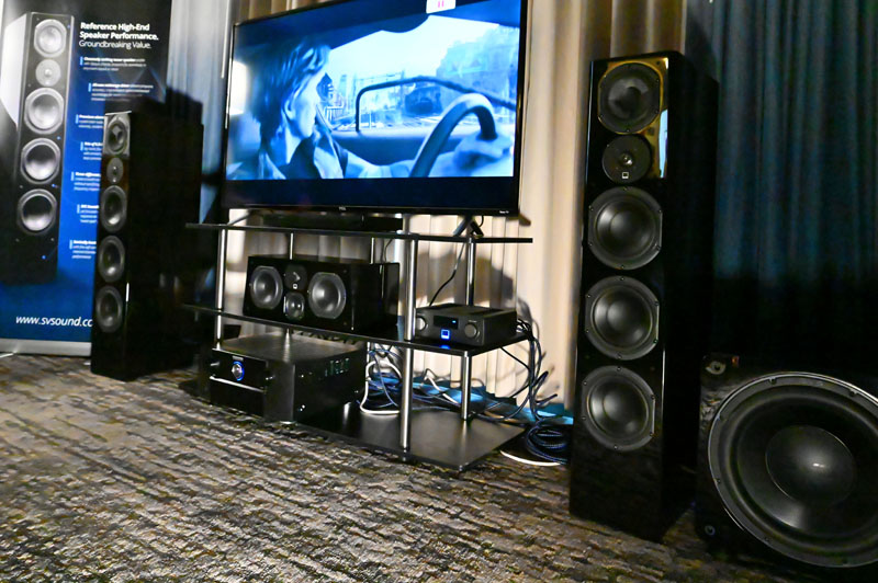 SVS Prime Pinnacle Speaker – AXPONA 2019