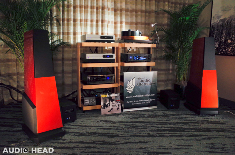 Vandersteen, AMG, VTL, Aurender, HRS & Audioquest at RMAF 2019.