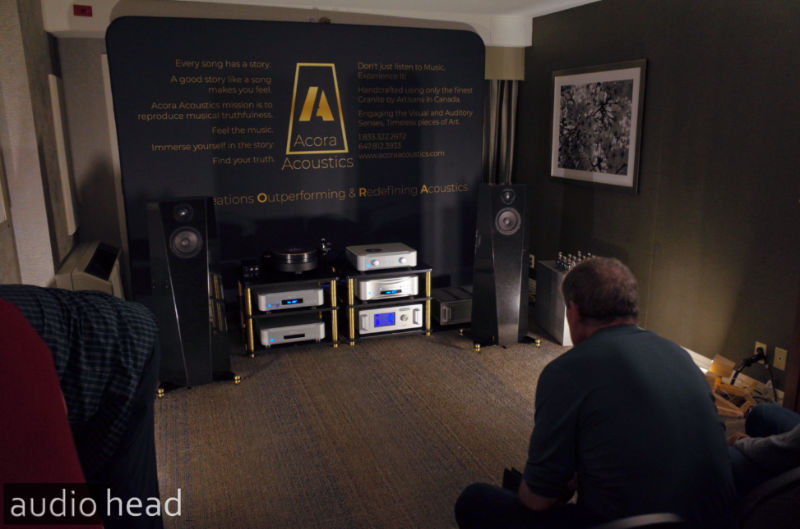 Acora Acoustics with Esoteric, TW Acoustic, Audio Research, Cardas from CAS 2019. Capital Audiofest 2019