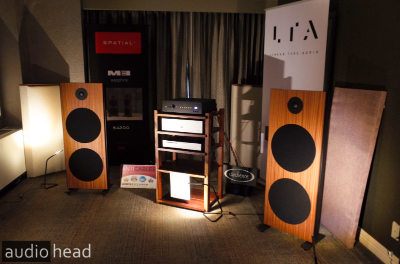 Spatial Audio debuts M3 Sapphire, alongside Linear Tube Audio, LampizatOr, Innuos, and Anticables - CAF 2019.