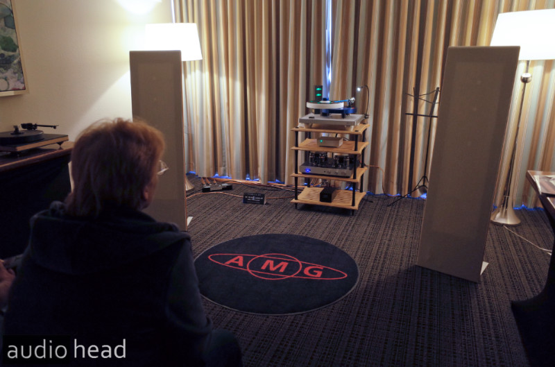 Musical Surroundings, Sweet Home Audio, AMG, DS Audio, Rogue Audio, Magnepan .7 at the Florida Audio Show.