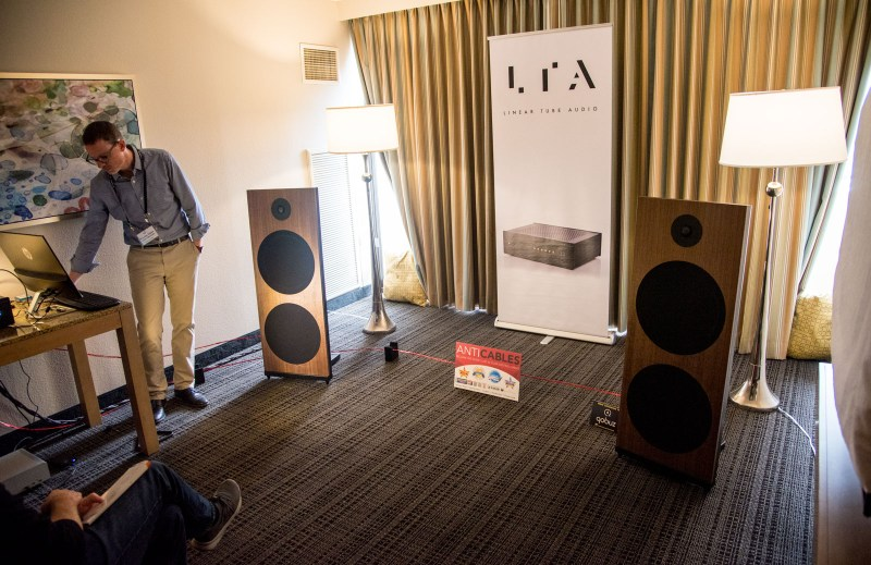 LTA Linear Tube Audio debuted the ZOTL UltraLinear Power Amplifier at the Florida Audio Show.