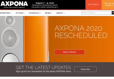 AXPONA 2020 And Montreal Audiofest Postponed Due To Corona Virus Pandemic