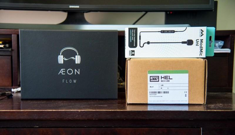 Review Hel Yea. Review Schiit Hel. Review Aeon Flow by Dan Clark Audio, DCA.