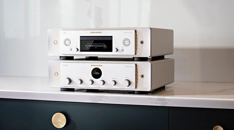 Marantz MODEL 30 Integrated amplifier and SACD 30n Network Audio Streamer