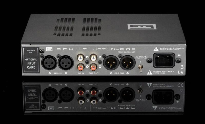 Schiit Audio Jotunheim 2 amp back.