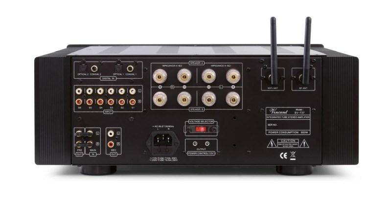 Vincent Audio Announces SV-737 Hybrid Integrated Back Panel