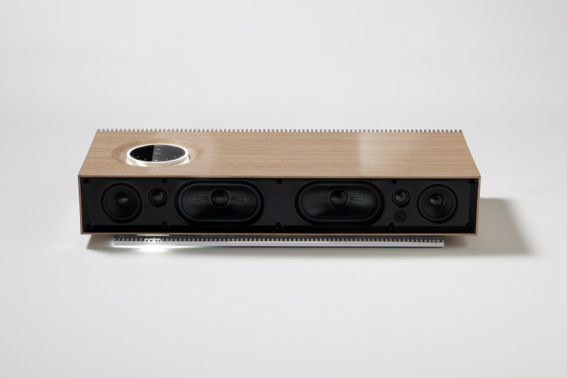 Naim Mu-So Wood Edition front no grill.