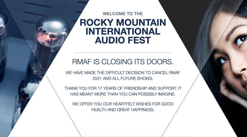 Rocky Mountain Audio Fest, RMAF 2021