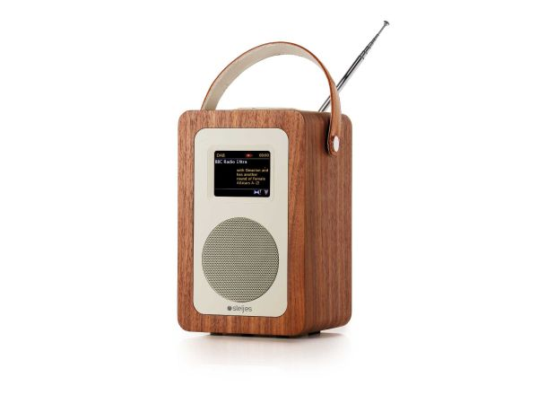 Steljes Audio: SA60 Digitale radio DAB+ - Walnut