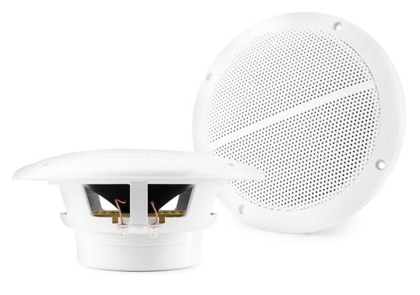 """Vonyx Marine Speaker Set Spatwaterdicht 6,5"""" Set 8 Ohm, Wit"""