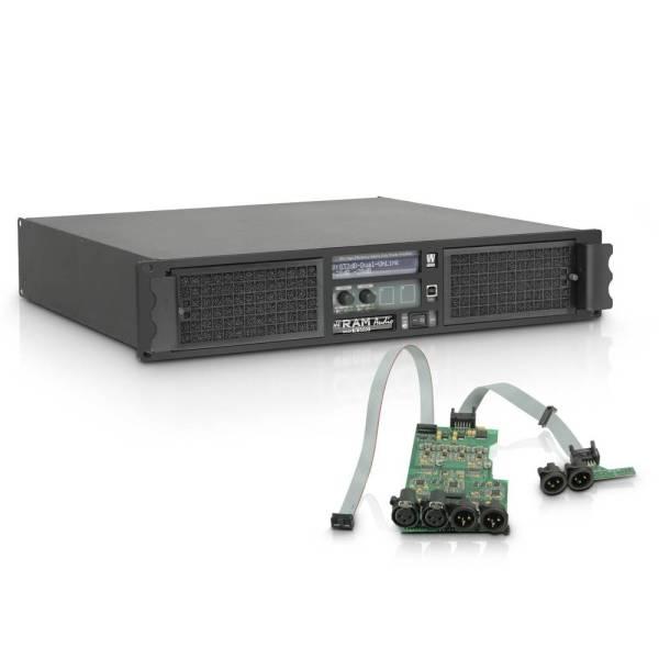 RAM Audio W6000 DSP Professionele versterker met DSP-module
