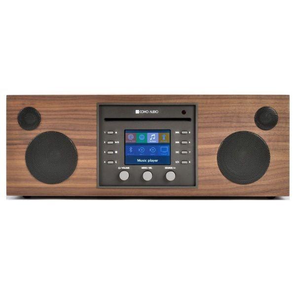Como Audio: Musica - DAB + / FM-radio met internetradio en CD-speler - Walnoot