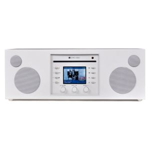 Como Audio: Musica - DAB + / FM-radio met internetradio en CD-speler - Wit