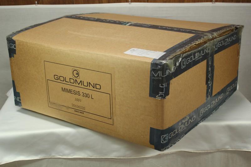 GOLDMUND ゴールドムンド MIMESIS 330L プリメインアンプ 東京都豊島区