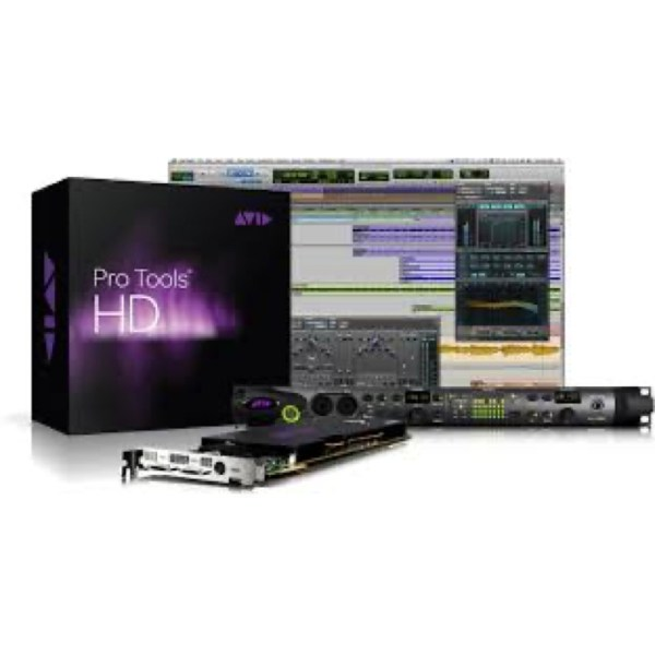 Pro Tools Ultimate + HDX CORE+HD 8X8X8+ILOK