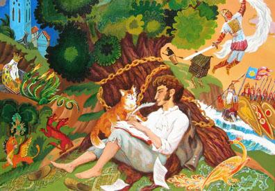 Сказки Пушкина — слушать аудиосказки онлайн | AudioBaby