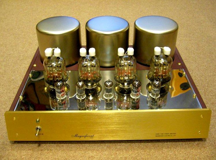 DIY amplifier dengan tabung hampa.